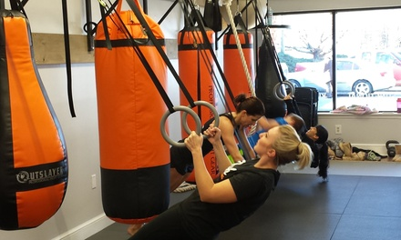 Four Weeks of Unlimited Martial Arts Classes at Push Thai Boxing (80% Off)