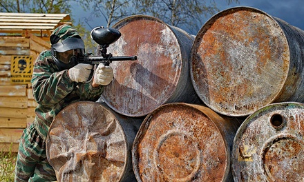 Full Day of Paintballing With Lunch and 100 Balls Each from £10 at Mayhem (Up to 83% Off)