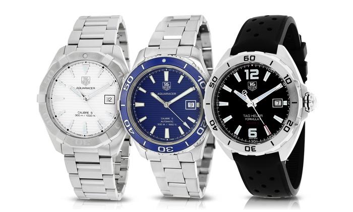 6ca7bbc3d70 Tag Heuer Men s Aquaracer and Formula 1 Swiss Watches