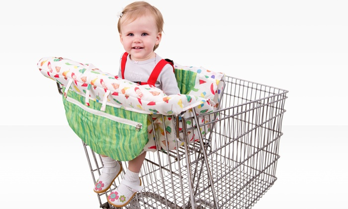 Eric Carle Shopping Cart and High Chair Cover: $19.99 for an Eric Carle Shopping Cart and High Chair Cover ($49.99 List Price). Free Shipping and Returns.
