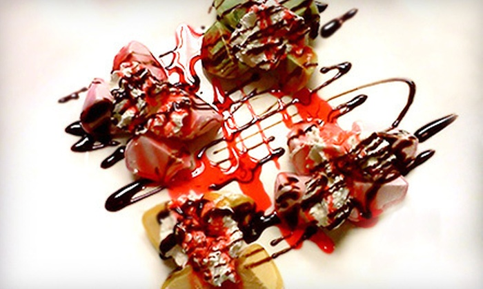 Sport Sushi - Felicita: $20 Worth of Sushi and Japanese Food