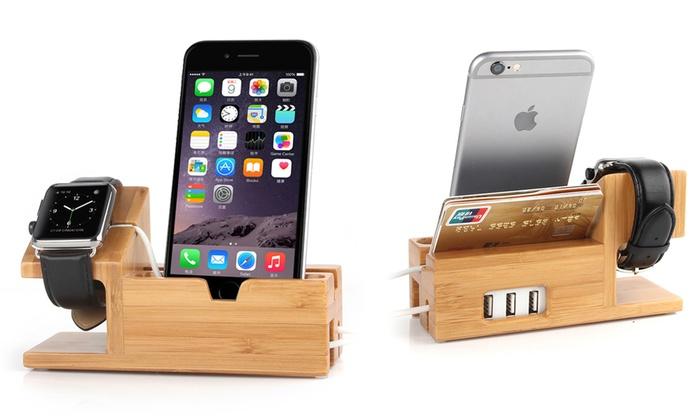 Waloo Apple Device Charging Hub Groupon Goods