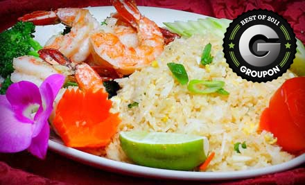 $25 Groupon to Thai Town - Thai Town in Anchorage