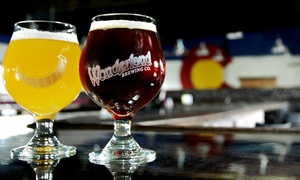 Wonderland Brewing Company: Craft Beer and Ping Pong for Two or Four at Wonderland Brewing Company (Up to 51% Off)