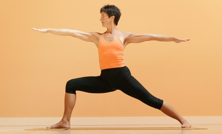 Five Classes or One Month of Unlimited Classes at Darling Yoga (Up to 77% Off)