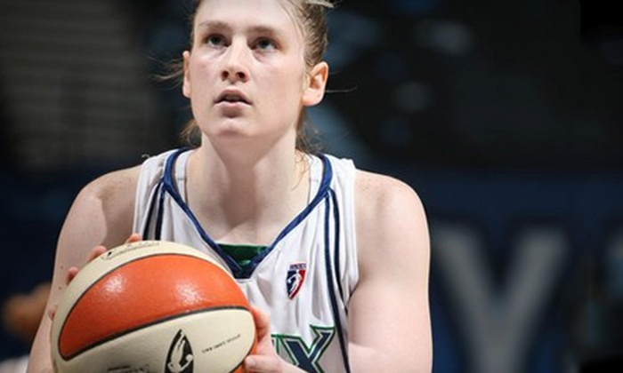 Minnesota Lynx vs. Connecticut Sun - Warehouse District: Minnesota Lynx WNBA Game at Target Center on May 21 or June 1 (Up to 47% Off)