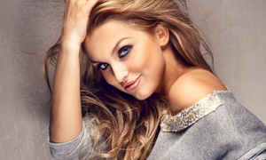 Blush Salon: Gloss, Single-Process Color, or Partial or Balayage Highlights with Optional Cut at Blush Salon (Up to 65% Off)