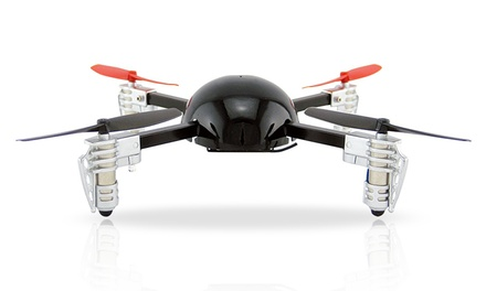 Micro Drone 2.0 Remote-Controlled Quadrocopter with Aerial Camera