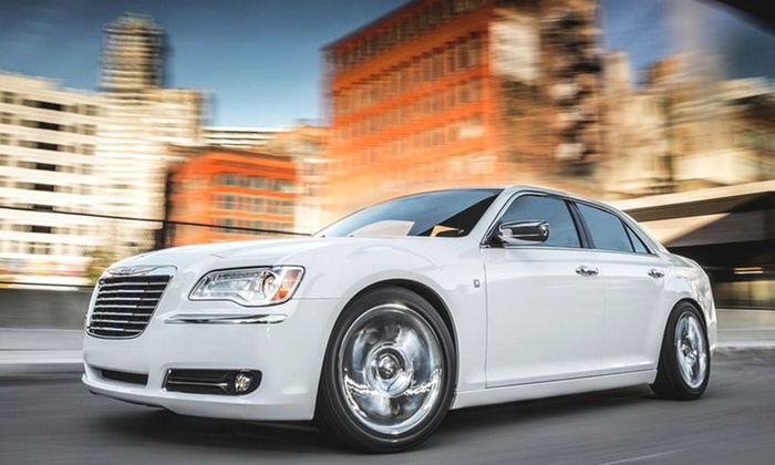 Xclusive Car Hire - CORRIMAL: From $89 for a Trip in a Luxury Chrysler 300C with Xclusive Car Hire, Corrimal (Up to $1,060 Value)