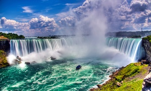 Couples or Family Package at Niagara Falls Hotel  at Four Points by Sheraton Niagara Falls Fallsview, plus 6.0% Cash Back from Ebates.
