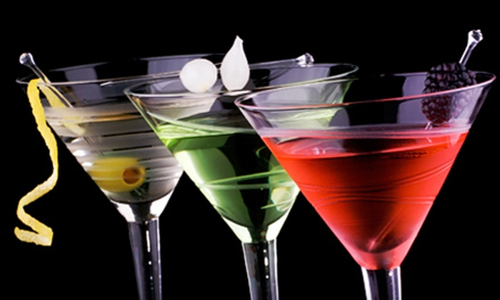 Red Lounge Bar & Grill - Cardozo,U Street,Pleasant Plains: Martini Tasting for Two or Four at Red Lounge Bar & Grill (58% Off)