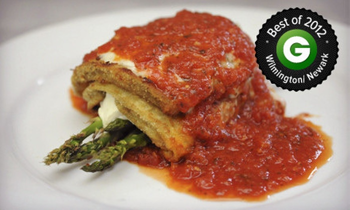 Vallé Cucina - Pike Creek Valley: $20 for $40 Worth of Italian Cuisine, Valid Monday–Thursday or Any Day at Vallé Cucina
