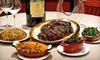 Dinner for Four:Appetizer, Entree, Side, and Dessert per person, and Two Bottles of Wine; Valid Any Day 4-6PM and 8-10PM