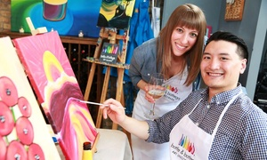 Bottle & Bottega Plano: 2.5-Hour Painting Party for One, Two, or Four at Bottle & Bottega Plano (Up to 32% Off)