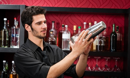 $99 for a 16-Hour Bartending School with 2-Hour Flair Course at 1-800-Bartend ($345 Value)