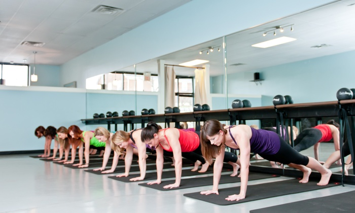 Studio 3 Fitness - Spring Hill: $49 for 10 Barre-Classes at Studio 3 Fitness ($125 Value)
