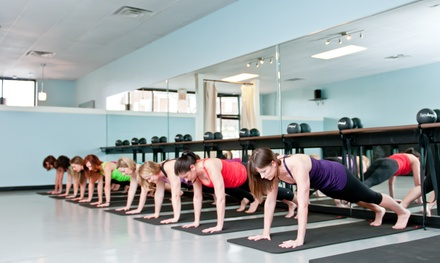 $49 for 10 Barre-Classes at Studio 3 Fitness ($125 Value)