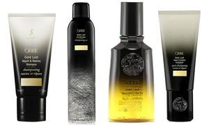 Oribe Gold Lust Haircare Products