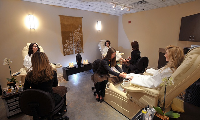 Salon and spa packages toppers spa salon groupon for Abaka salon groupon
