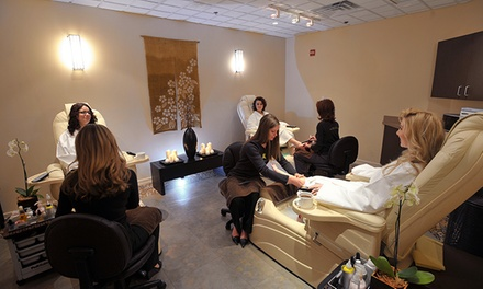 Salon and Spa Packages at Toppers Spa/Salon (Up to 41% Off). Four Options Available.