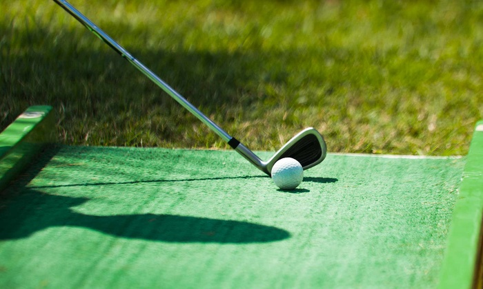 Putts and More - Holliston: Mini Golf for Two, Four, or Six with Hot Dogs and Ice Cream or Slushies at Putts & More (Up to 46% Off)