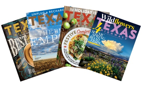One- or Two-Year Subscription to Texas Highways (Up to 33% Off)