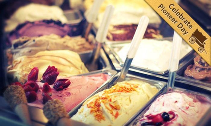 Café Bella Rue - Daybreak: $5 for $10 Worth of Panini, Salads, and Gelato at Café Bella Rue in South Jordan