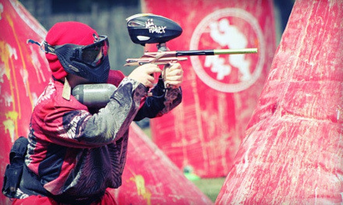 Long Live Paintball - Old Bridge: Full-Day Paintball Outing for One, Two, or Four with Gear and Ammunition at Long Live Paintball (Up to 70% Off)