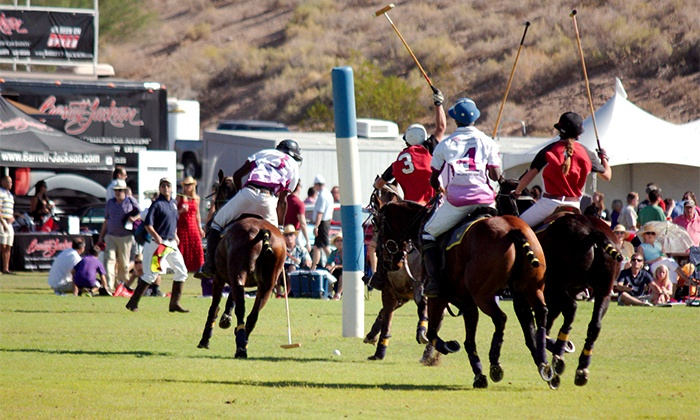Bentley Scottsdale Polo Championships: Horses & Horsepower - WestWorld of Scottsdale Polo Field: Tickets, Sideline Parking Pass, or RV Pass to the Bentley Scottsdale Polo Championships on October 24 (Up to 67% Off)