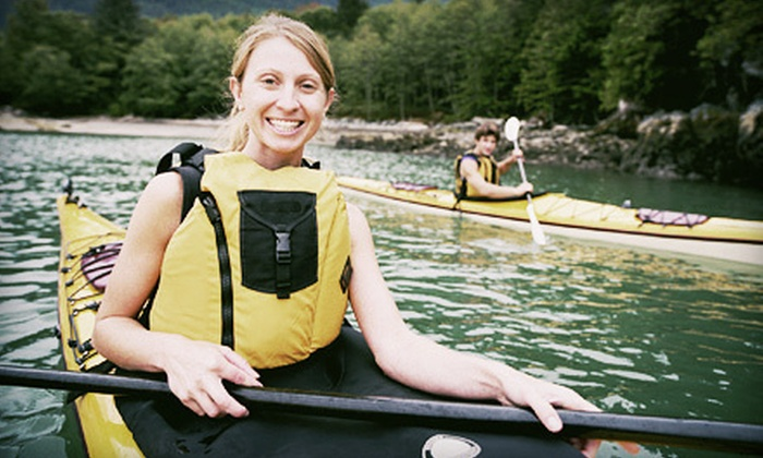 Kayak Instruction, Inc. - Multiple Locations: Two-Hour Kayak Rental or Three-Hour Indoor Quick-Start Class from Kayak Instruction, Inc. (Half Off)