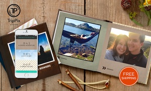$9.99 For A 6x6 Hard Cover Photo Book From Trippix By Shutterfly. (iphone App Only)