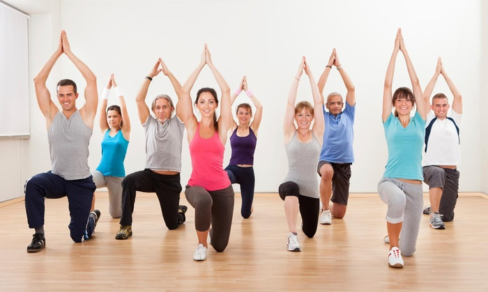 Fitness 100 - Walnut Valley: Up to 70% Off Yoga Classes at Fitness 100