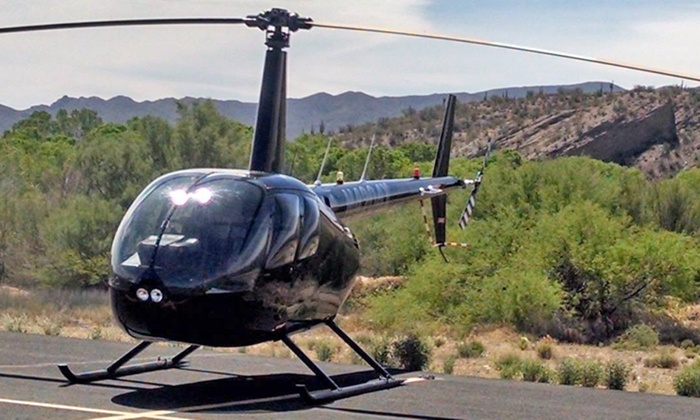 Tango Three - Tango Three: $229 for 30-Minute Scenic Helicopter Cruise for Two at Tango Three ($330 Value)