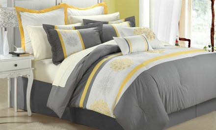 8-Piece Beijing Embroidered Comforter Set. Multiple Sizes from $69.99–$74.99. Free Returns.