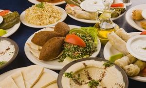 Le mezzé: Saveurs libanaises traditionnelles pour deux personnes à 22 € au restaurant Le Mezzé