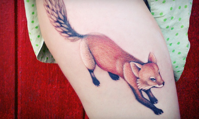 Kangaroo Paw Tattoo - Montavilla: One or Three Hours of Tattoo Services at Kangaroo Paw Tattoo (Half Off)