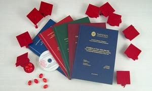 Tesi24.it: Tesi24.it - 3 stampe della tesi di laurea con rilegatura in brossura o similpelle. Spedizione gratuita