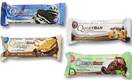 Quest Nutrition Protein Bars (12-Pack)