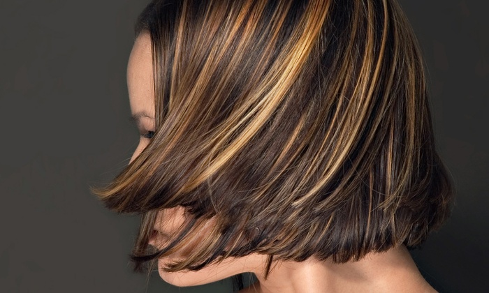 Jakari J Salon - East Elmhurst: Haircut, Style, and Hydration Treatment with Option for Partial or Full Highlights at Jakari J Salon (Up to 55% Off)