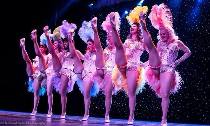 Opening Night of Dallas Burlesque Fest with The Ruby Revue Burlesque (Dinner Option) - House of Blues Dallas: Dinner & Show Package for Ruby Revue Burlesque Show on Friday, February 12, at 8 p.m. or 10:30 p.m