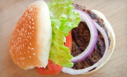 Kosher Burgers, Mediterranean Cuisine, and Drinks at Beit Burger (Up to 48% Off). Two Options Available.