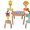 Kids' Wooden Animal Chair or Around the Globe Table