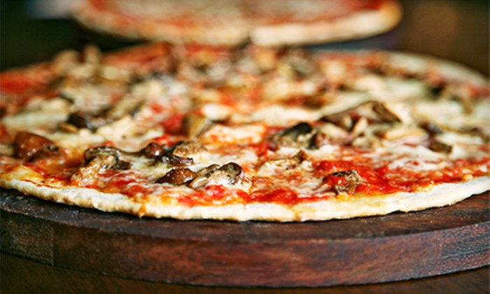 twinOak Wood-Fired Fare - Brentwood: Two or Four Personal Wood-Fired Pizzas with Drinks at twinOak Wood-Fired Fare (Up to Half Off)