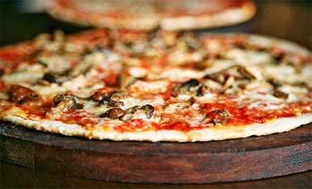 Two or Four Personal Wood-Fired Pizzas with Drinks at twinOak Wood-Fired Fare (Up to Half Off)