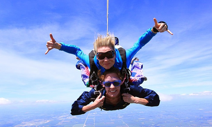 Great Lakes Skydiving - Beloit: $159 for a Tandem Skydive Jump from Great Lakes Skydiving (Up to $229 Value)