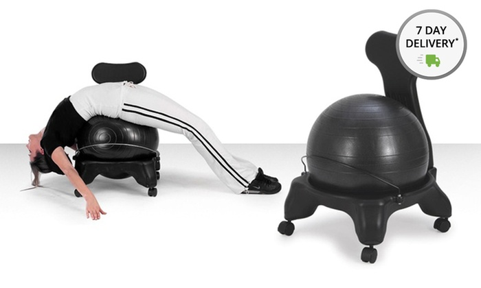 Sivan Health and FitnessFitness Chair with Built-In Exercise Ball: Sivan Health and FitnessFitness Chair with Built-In Exercise Ball. Free Returns.
