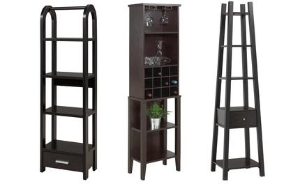 Wine Bar or Multi-Tier Display Shelf