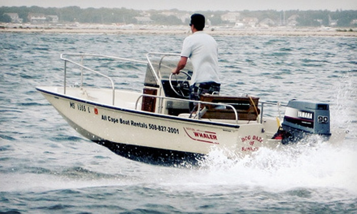 All Cape Boat Rentals - Barnstable Town: Boat or Jet-Ski Rental from All Cape Boat Rentals (Up to 64% Off). Five Options Available.