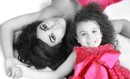 Boudoir, Family, Individual, or Kids Photography Package at Glamour Shots (Up to 86% Off)