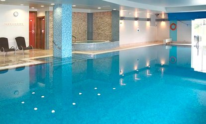 image for Half-Day Spa Access with Towel Hire, Danish Pastry and Drink for Two at 4* The Cheltenham Chase Hotel
